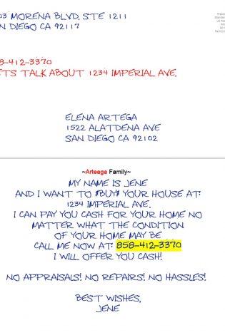 Family Letterhead Postcard
