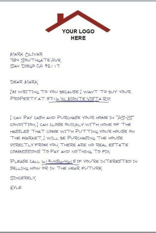 Handwritten Logo Letter