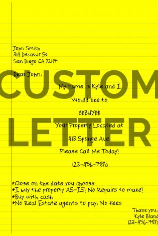 Custom Letter